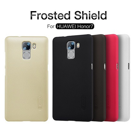 Obal Frosted Nillkin Black Huawei Honor 7