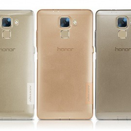 Obal Natural Nillkin Grey Huawei Honor 7